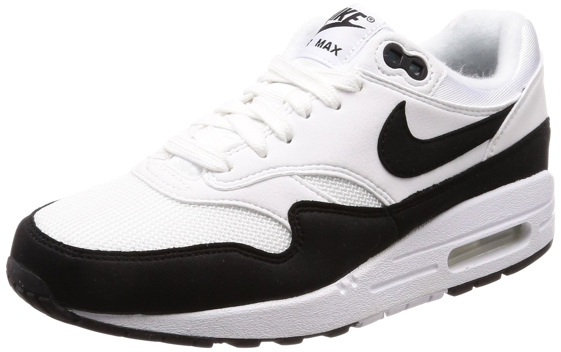 Nike Women's Air Max 1, (WhiteBlack 109), 7.5 us