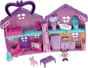 Fisher Price V4156 Jouet Premier Age La Maison De Minnie Amazon Fr Jeux Et Jouets