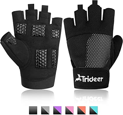 WEIGHT LIFTING GYM GLOVES LEATHER BLACK /& PINK BRAND NEW SMALL