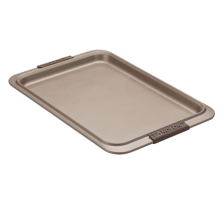 Anolon Advanced Bronze Nonstick Bakeware Sweet /& Savory Set Bronze 3-Piece