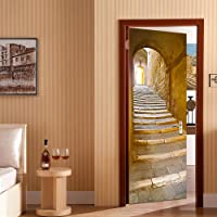 Rocwart 3D Puerta Mural de Vinilo para Sala