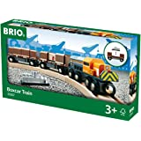 BRIO World - 33567 - TRAIN PORTE-CONTENEURS