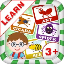 Learn Insect Names - Kids Fun