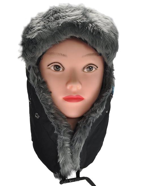 ... Conejo Unisex Ruso de Pelo sintético Gorro con Auriculares Bluetooth al Aire Libre Resistente al Viento Invierno Calentadores: Amazon.es: Electrónica