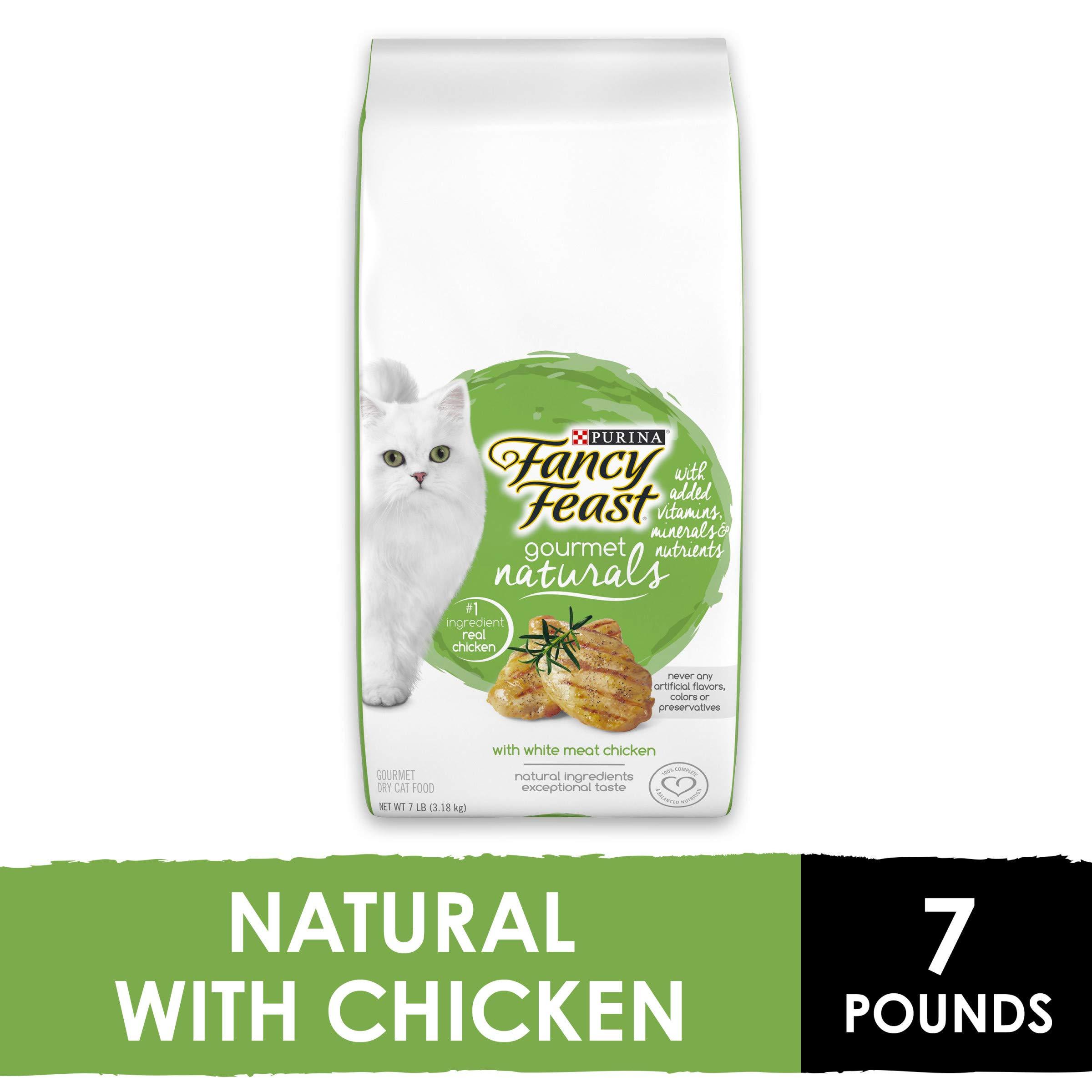 Purina Fancy Feast Gourmet Naturals Dry Cat Food ...