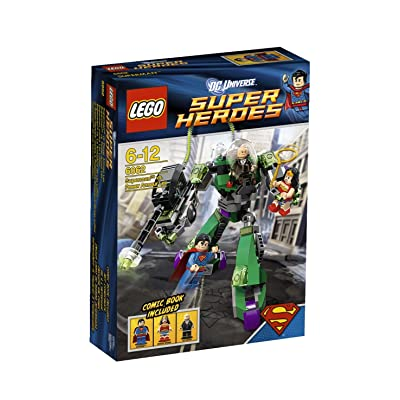 LEGO Super Heroes Superman Vs Power Armor Lex 6862 (Discontinued by manufacturer): Toys & Games