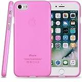 Kit Me Out IT® Custodia in gel TPU per Apple iPhone 7 - Rosa Modello satinato