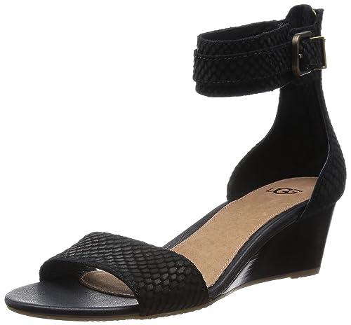 bc01b46daf7 UGG Australia Women's Char Mar #1006939 Black Suede Size 5.5 Medium ...
