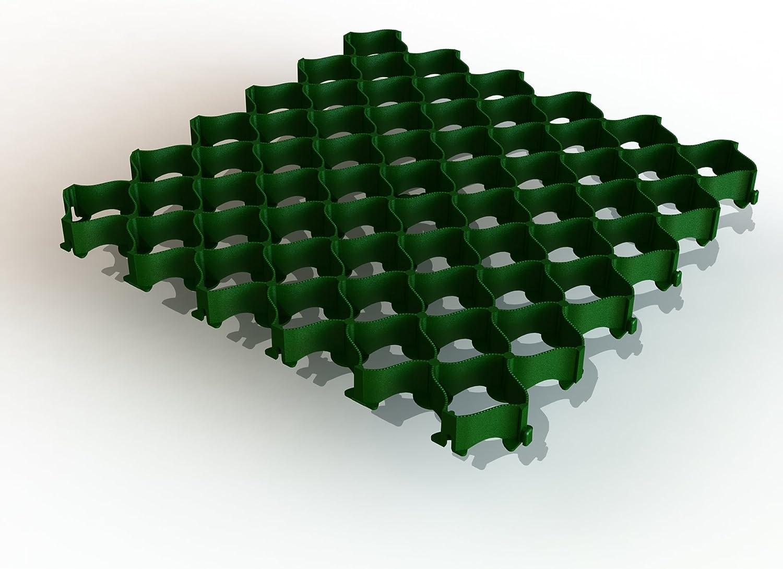 altad irekt Césped rejilla Aparcamiento plástico con sistema de ...
