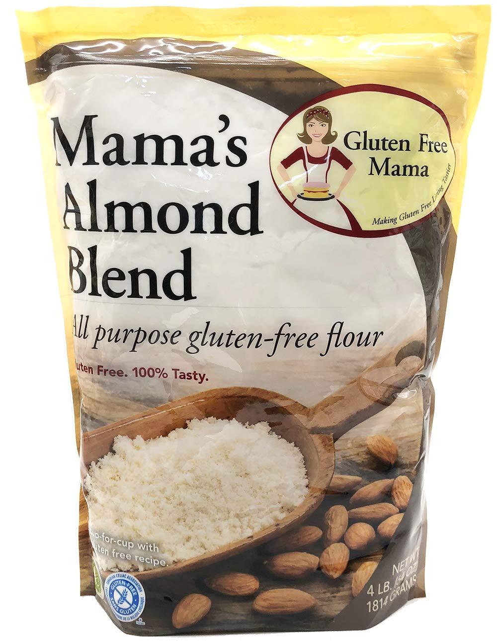 Gluten Free Mama's: Almond Blend Flour - Gluten Free Flour - Non-Gritty Texture - Great Flavor for Recipes - Certified Gluten Free Ingredients - All Purpose - Safe for Celiac Diet