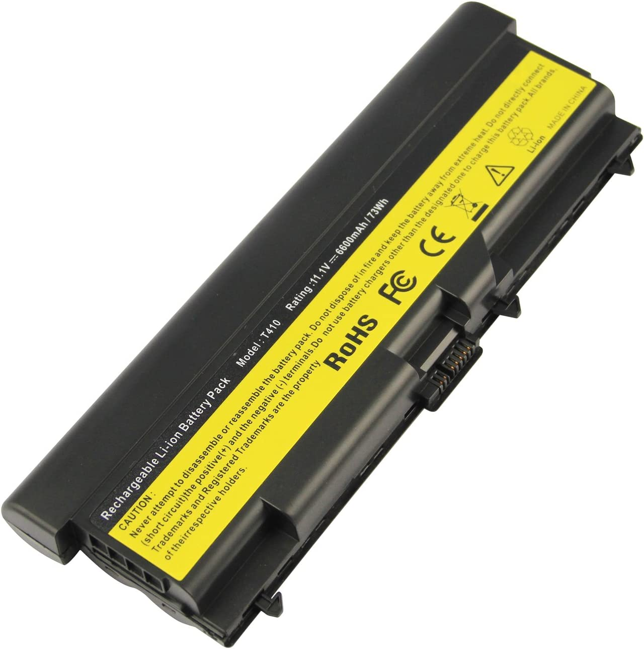 Futurebatt 9Cell 6600mAh Laptop Battery for Lenovo ThinkPad 55++ T410 T420 E420 T510 T510i T520 T520i SL410 SL510 W510 W520 57Y4186 42T4799 42T4798