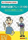 比べてみればよく分かる!英語の正誤フレーズ100 あなたの日本人英語が即ネイティブ英語に!: Book 6 名詞・前置詞・形容詞・副詞