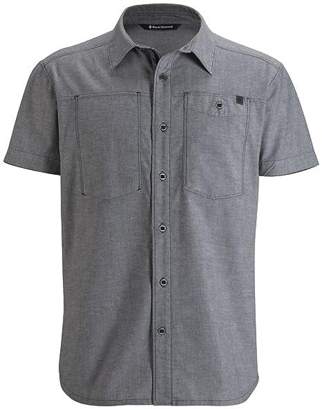 Amazon.com: Black Diamond Chambray Camisa modernista ...