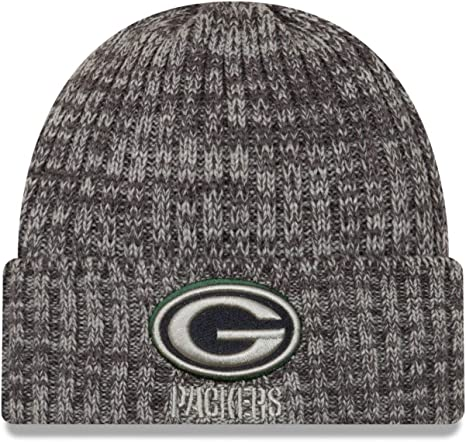 New Era Nfl Knit Beanie Crucial Catch Green Bay Packers Amazon Co Uk Sports Outdoors