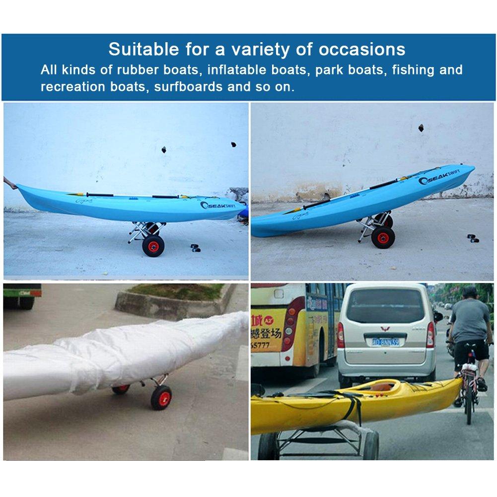 Vbestlife Kayak Carrying Strap Portable Surfboard Shoulder Strap Adjustable Nylon Canoe SUP Surfboard Strap Longboard Carry Belt by Vbestlife (Image #9)