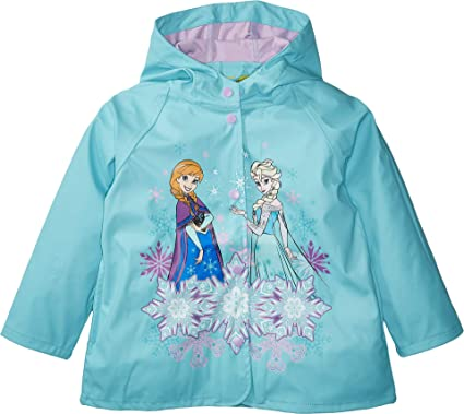 f76aeec19 Amazon.com  Western Chief Kids Frozen Rain Jacket  Clothing