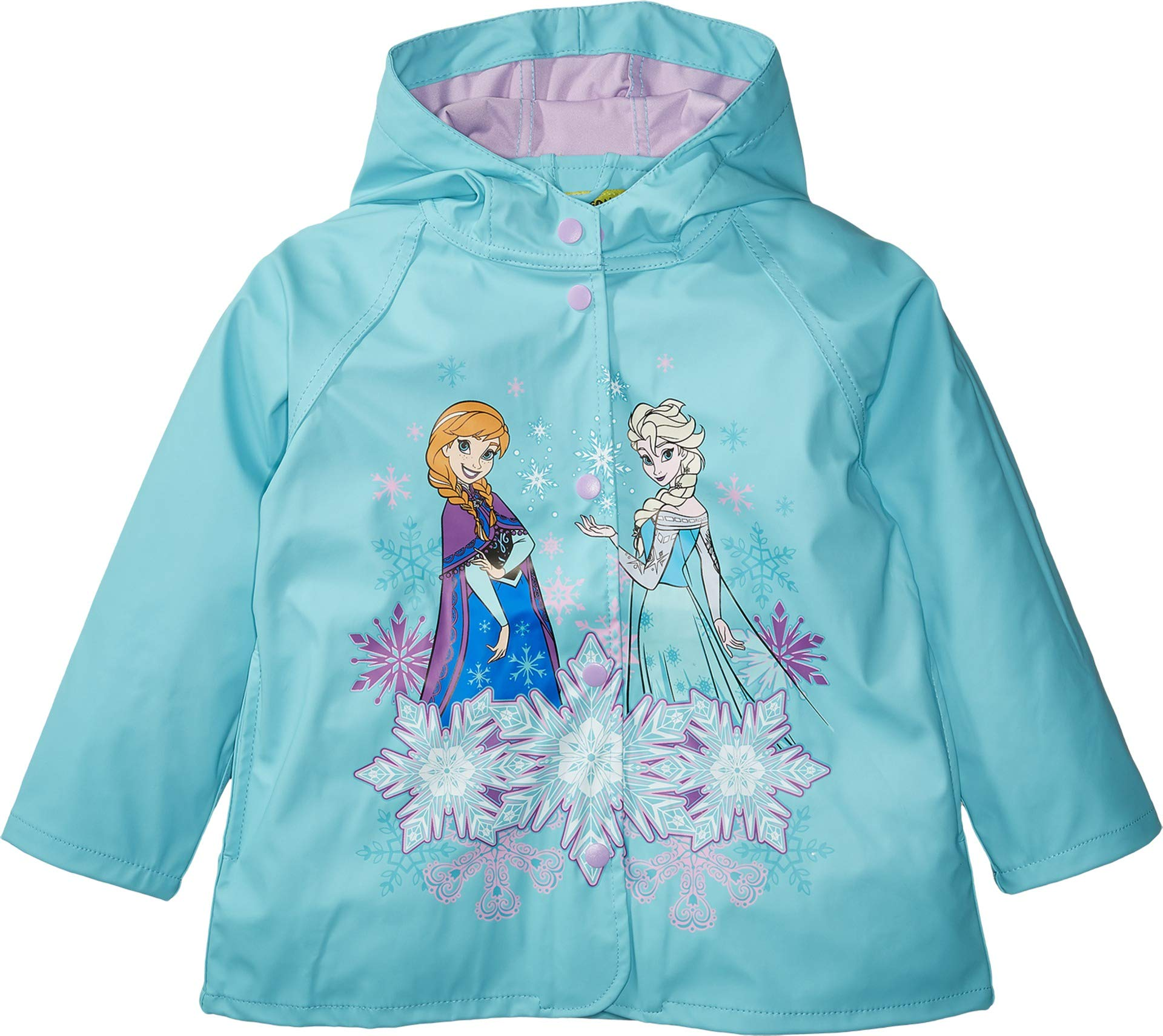 Western Chief Kids Frozen Rain Jacket, Blue, 5 by Western Chief (Image #1)