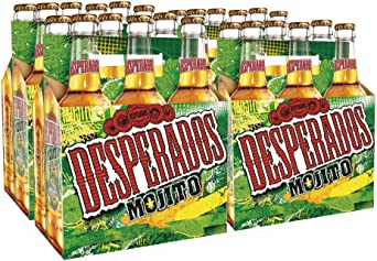 Desperados Mojito Cerveza Pack De 24 Botellas X 330 Ml Total 7 92 L Amazon Es Alimentacion Y Bebidas