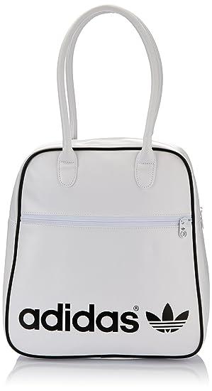 a3534ab5e411f6 adidas Women's Adicolor Bowling Bag - White/Black: Amazon.co.uk ...