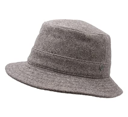 28fa9e93bd7d0 Wegener Otmar Wool Felt Bucket Hats Size 57 cm Gray-Clair at Amazon Men s  Clothing store