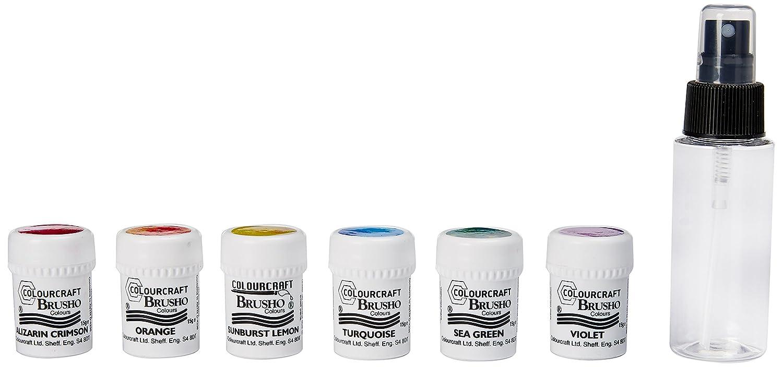 Brusho Crystal Colours Craft Spritzer Set