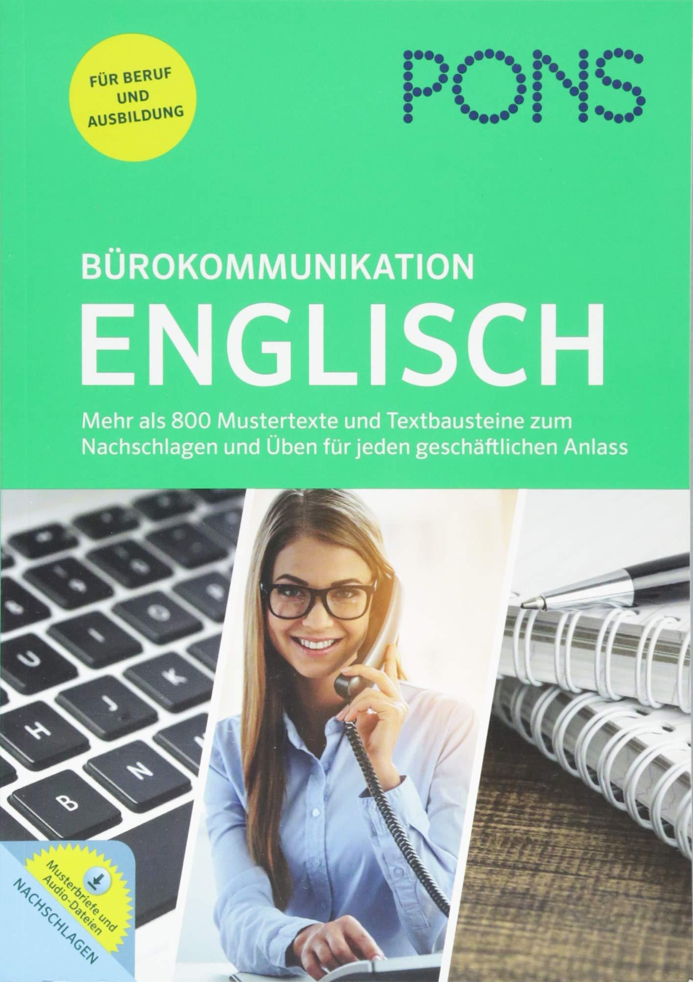 Pons Bürokommunikation Englisch Mustertexte Textbausteine Und