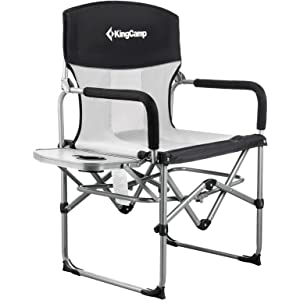 KingCamp Heavy Duty Compact Camping Folding Mesh Chair