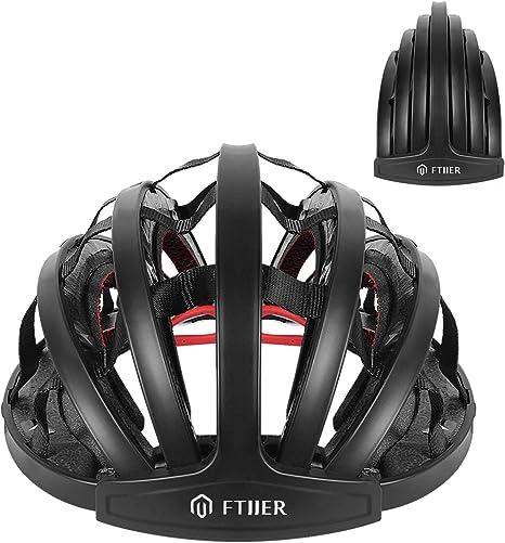 FTIIER - Casco de bicicleta plegable: Amazon.es: Deportes y aire libre