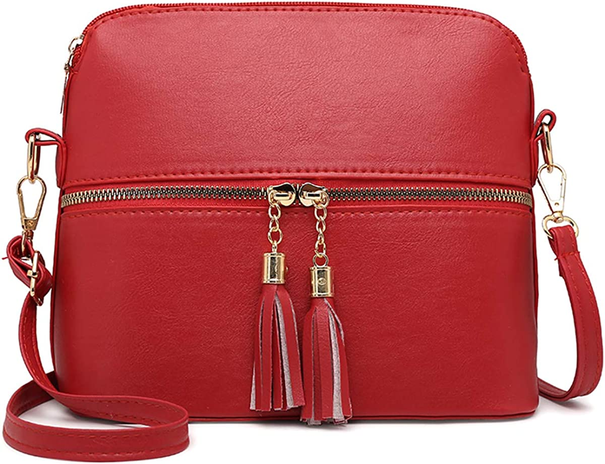 Crossbody Bags PU Leather...