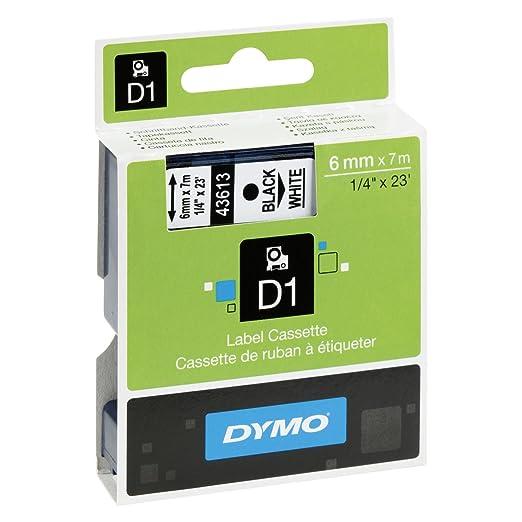 86 opinioni per Dymo D1 etichette autoadesive per stampanti LabelManager, rotolo da 6 mm x 7 m,