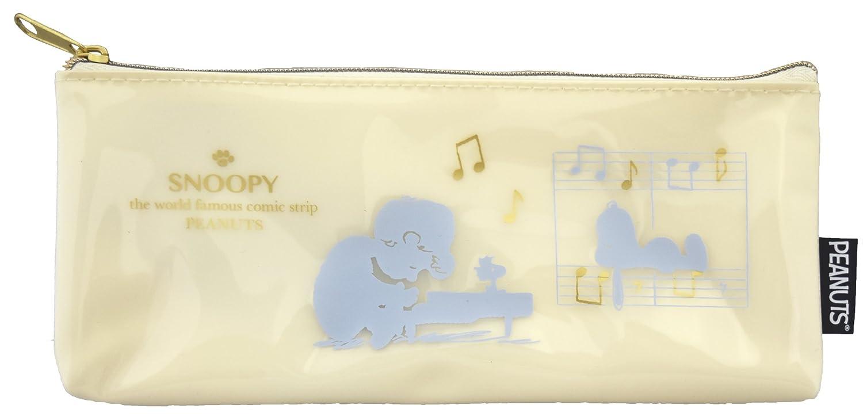 Delfino P-12850 Silhouette Stifteetui Snoopy Piano