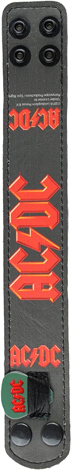 Perris Leathers LPCP-8014 ACDC Double Sided Design Guitar Strap 2 x 39 x 58