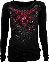 Spiral - Women - BLOOD ROSE - Baggy Top Black