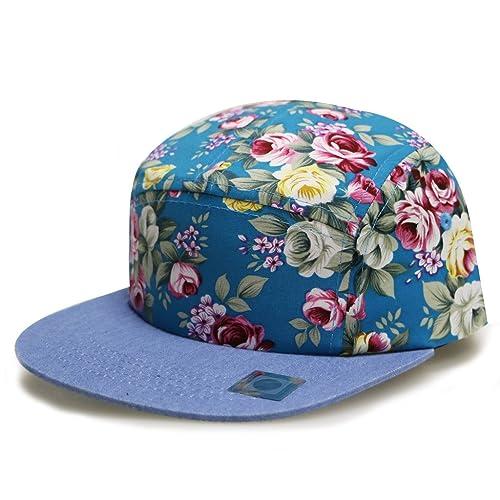 8ce38a8ac2a0a ... discount city hunter cn280p plain flower 5 panel biker hat 3 colors  33ec9 f9cc5