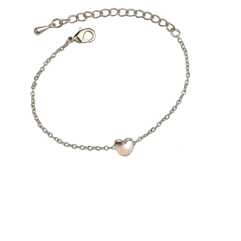 REGINA BRACELET Fashion Jewelry Dainty Bracelet Gold Bracelet Heart Bracelet Charm Bracelet Rose Gold Bracelet Minimal Jewelry