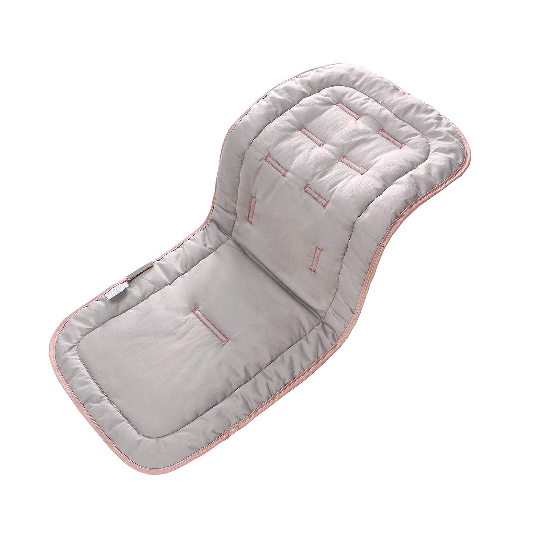 Blue Star Universal Cotton Cushion Padding Reversible Seat Liner Prams Buggy Carseat Travel for Infants Newborns Babies Kids Baby Stroller Pad