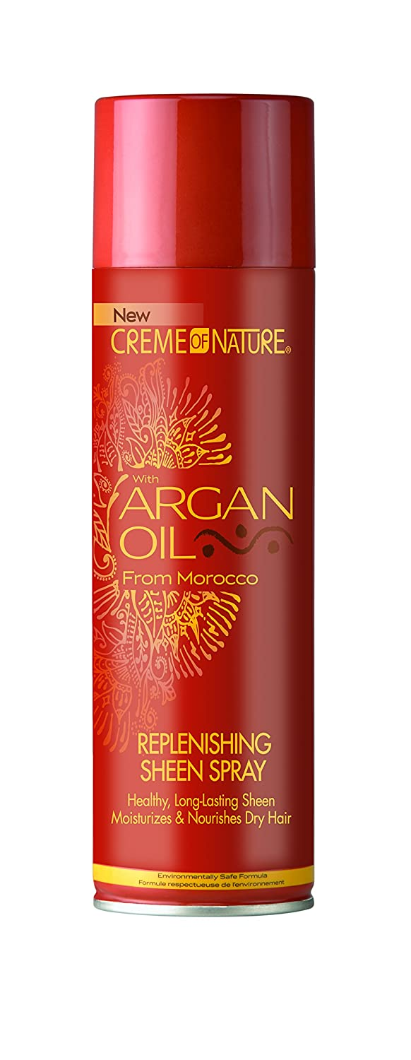 Creme Of Nature Argan Oil Sheen Spray 11.25 Oz