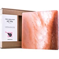 Natural Himalayan Salt Block for BBQ Cooking Grilling Serving Entertaining. Small Square 20cm x 20cm x 3cm 2.9kg