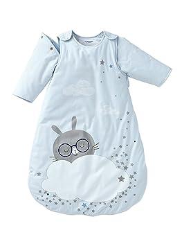VERTBAUDET Saquito de mangas desmontables NUBE DE SUEÑO Azul Estampado 85: Amazon.es: Bebé