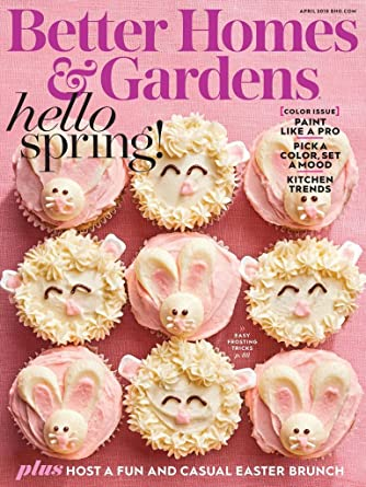 good looking better homes gardens. Better Homes  Gardens Amazon com Magazines
