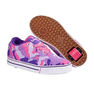 New Boys/Childrens Navy Heelys Skate Shoes Low Profile Wheels To Heel - Navy/Royal - UK SIZES 12-1