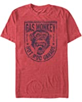 Gas Monkey Shield Mens Graphic T Shirt
