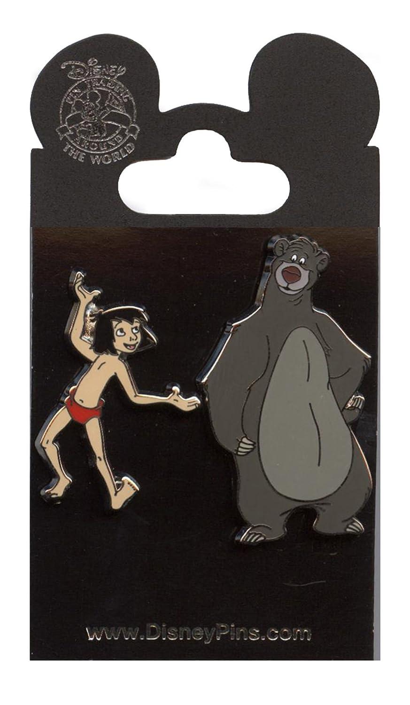 Disney Pin - Jungle Book Baloo and Mowgli