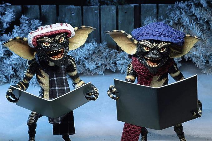 """Neca Gremlins Hiver 2 Figure pack avec accessoires 7/"""" CHRISTMAS CAROL Gremlin"""