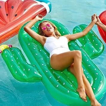 Hinchable Flotador Cactus Piscina para Adultos Hinchables Juguete ...