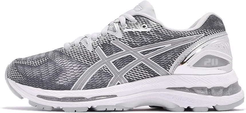 Asics Gel-Nimbus 20 Platinum Womens Zapatillas para Correr - 37: Amazon.es: Zapatos y complementos