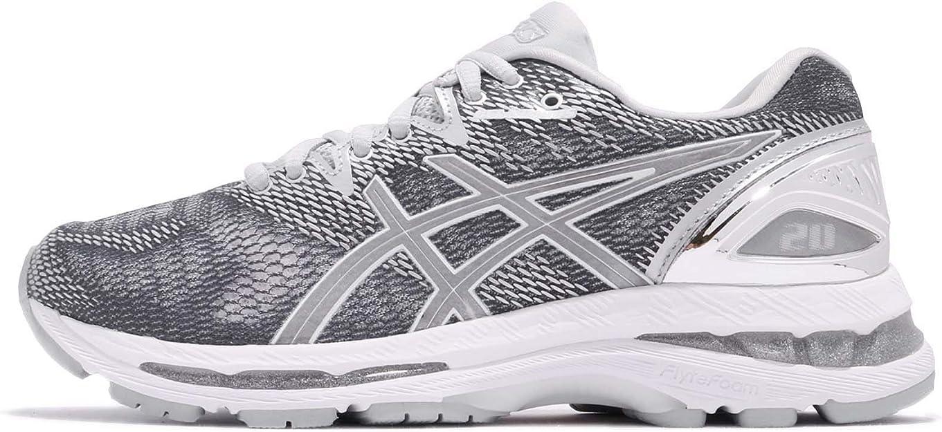 Asics Gel-Nimbus 20 Platinum Womens Zapatillas para Correr: Amazon.es: Zapatos y complementos