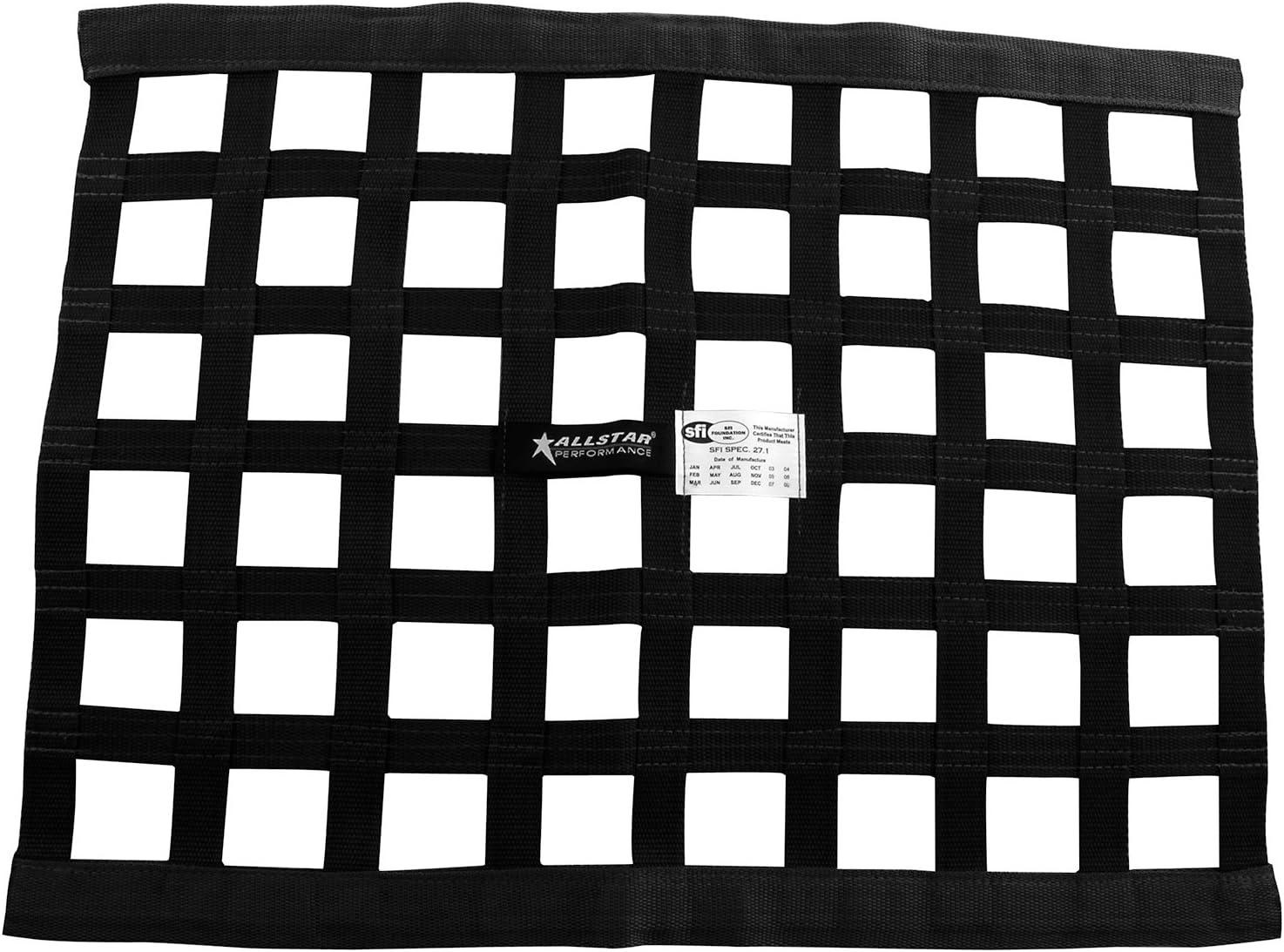 Round Tube Allstar Performance ALL10219 Installation Window Net Kit Spring Loade