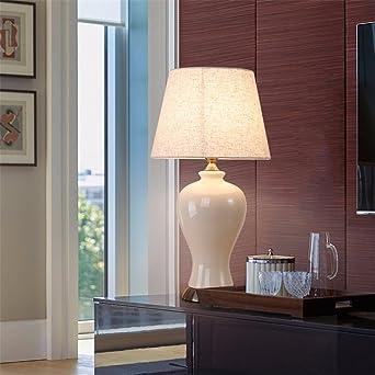 KAI Keramik Tischlampe Nordic Keramik Tischlampe Amerikanischen  Tischleuchte Hotel Zimmer Lampen Wohnzimmer Sofas