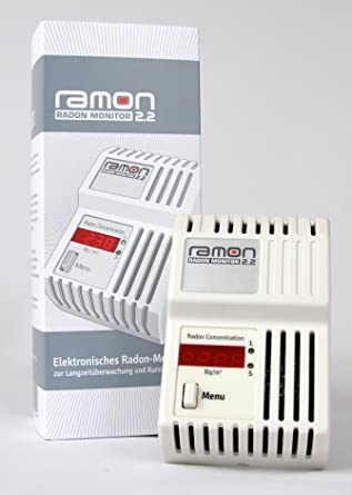 RAMON 2.2 Monitor de Gas Radón Digitales